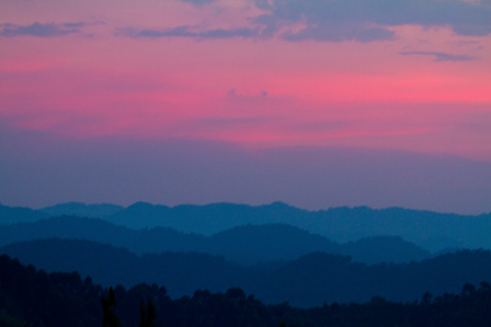 View_from Bwindi_at_Sunset_Uganda