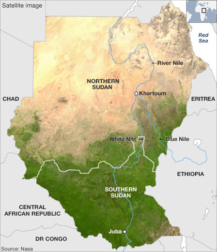 Sudan Geography African Bird Club